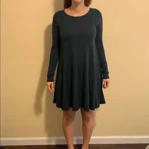 TWO old navy long sleeve dresses